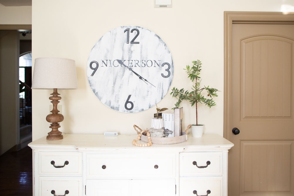 DIY Whitewash Wood Sign - Distressed Weathered Paint without Bleed
