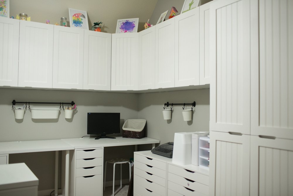 Craft Room Makeover Reveal - Phase 3 - Cabinet Doors