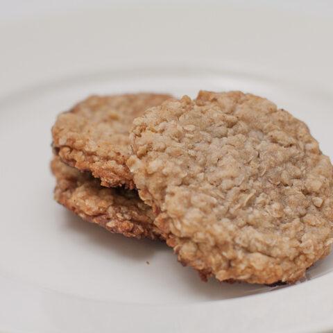Vanilla Instant Oatmeal Breakfast Cookies