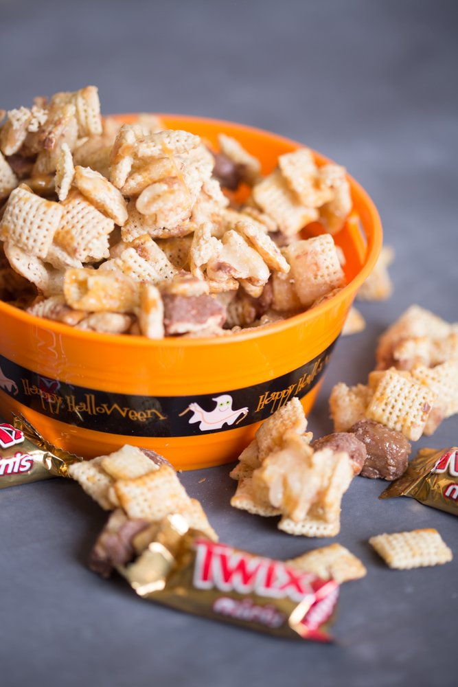 Holiday Chex Mix Recipe with Chocolate