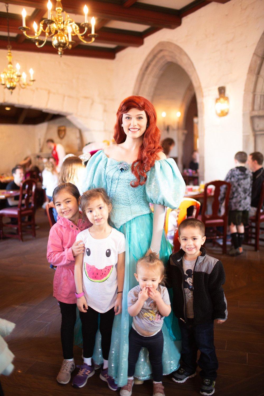 Disney restaurant review at Ariel Photo