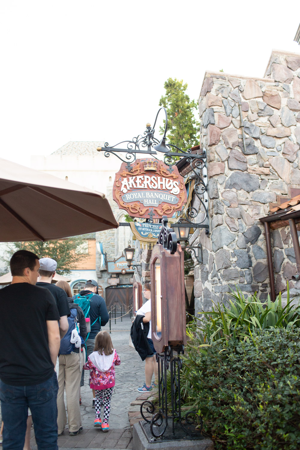 Disney restaurant review at Akershus Door Photo