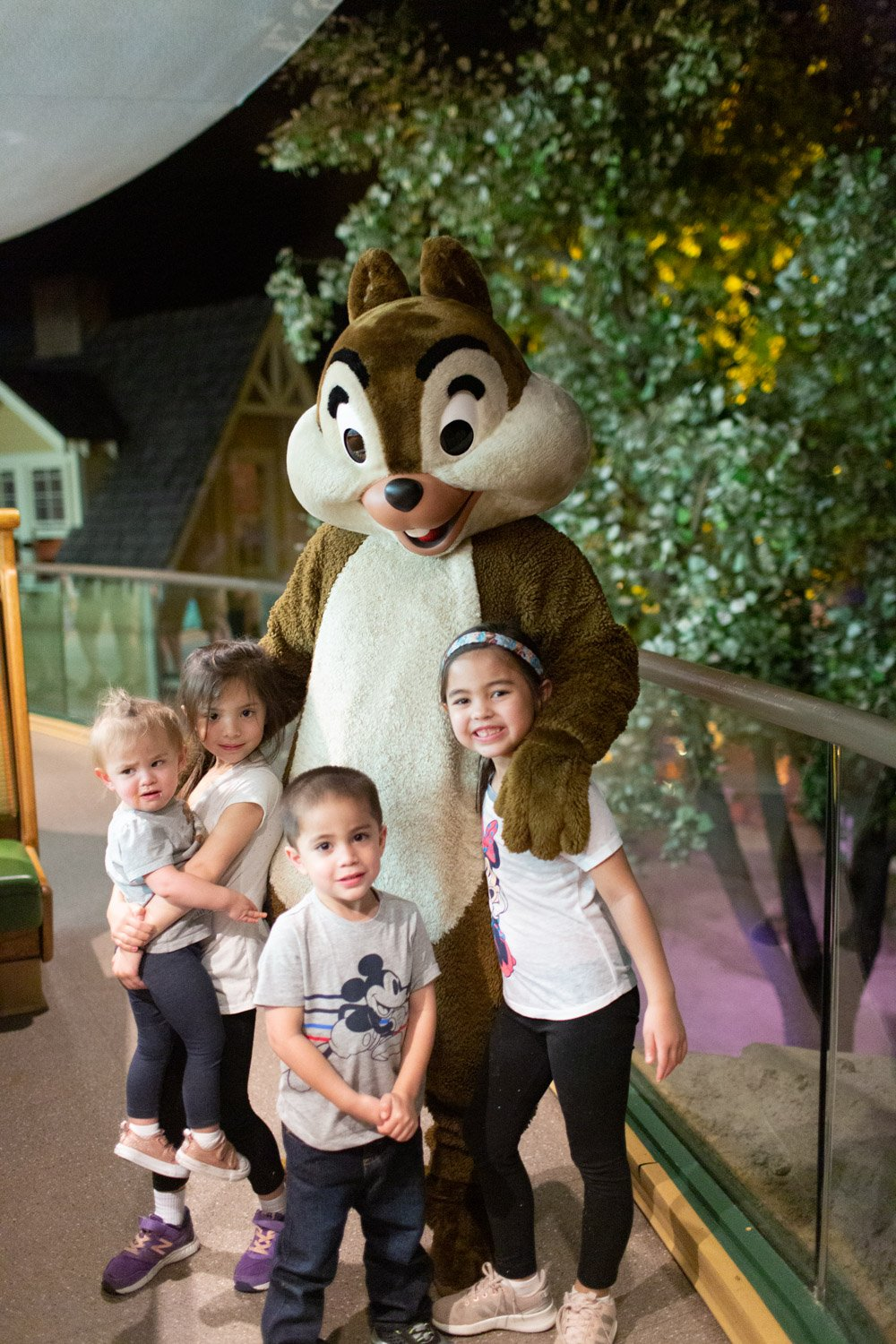 Disney restaurant review at Garden Grill Chip and Dale photo