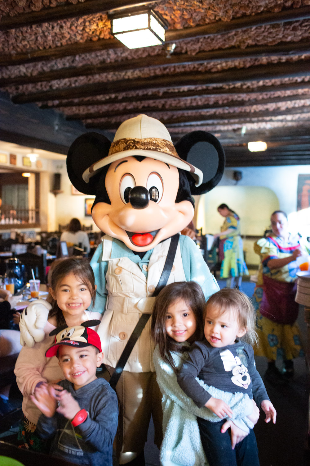 Disney restaurant review at Tusker House Mickey Photo