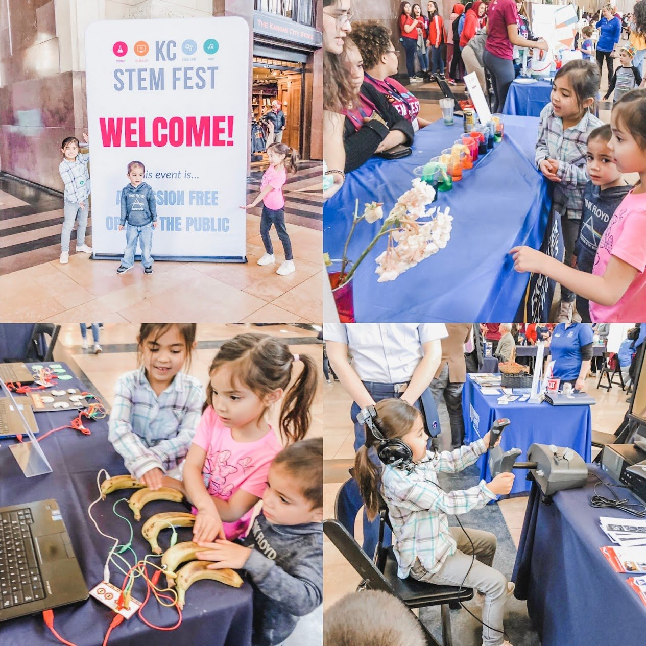 things to do with kids in kansas city Union station activities