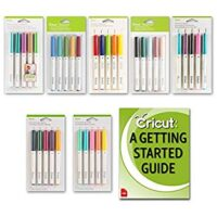 Cricut Machine Bulk Pen Set Variety Packs for All Design Space Fonts