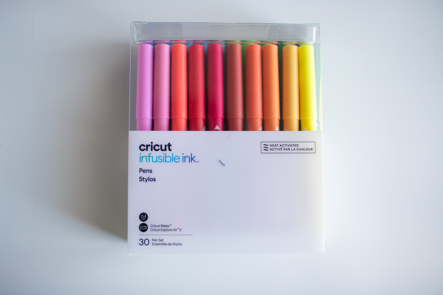 cricut infusible ink pen colors