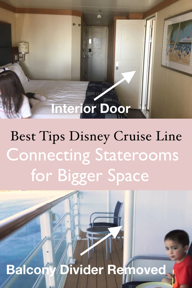 Picture of: All About Connecting Staterooms And Cabins Disney Cruise Verandah