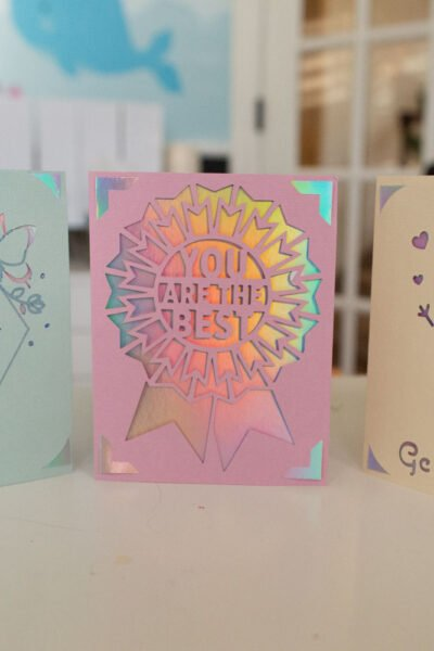 how to use a cricut joy insert cards with card mat