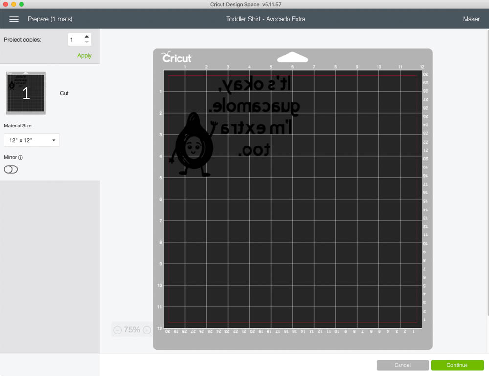 cricut infusible ink in design space