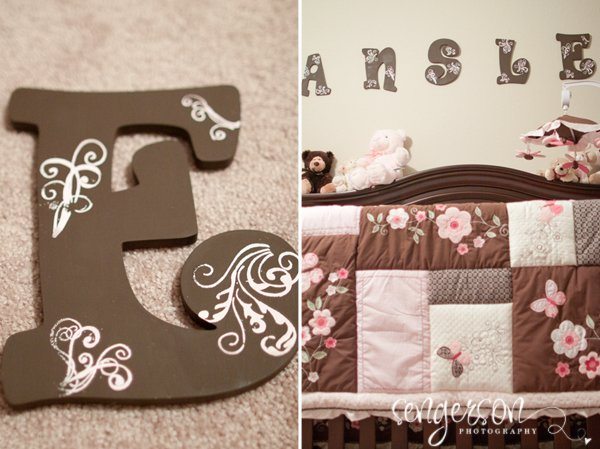 diy nursery letters featured by top US home decor blogger, Sengerson