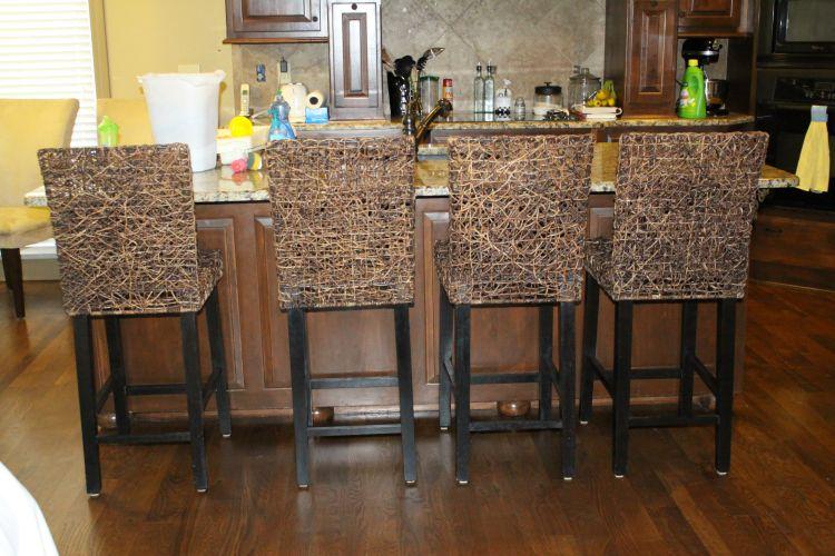 modern farmhouse stools
