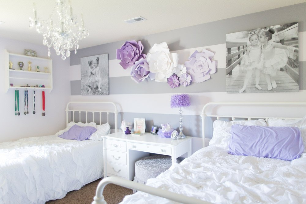 Sisters Sharing Bedroom
