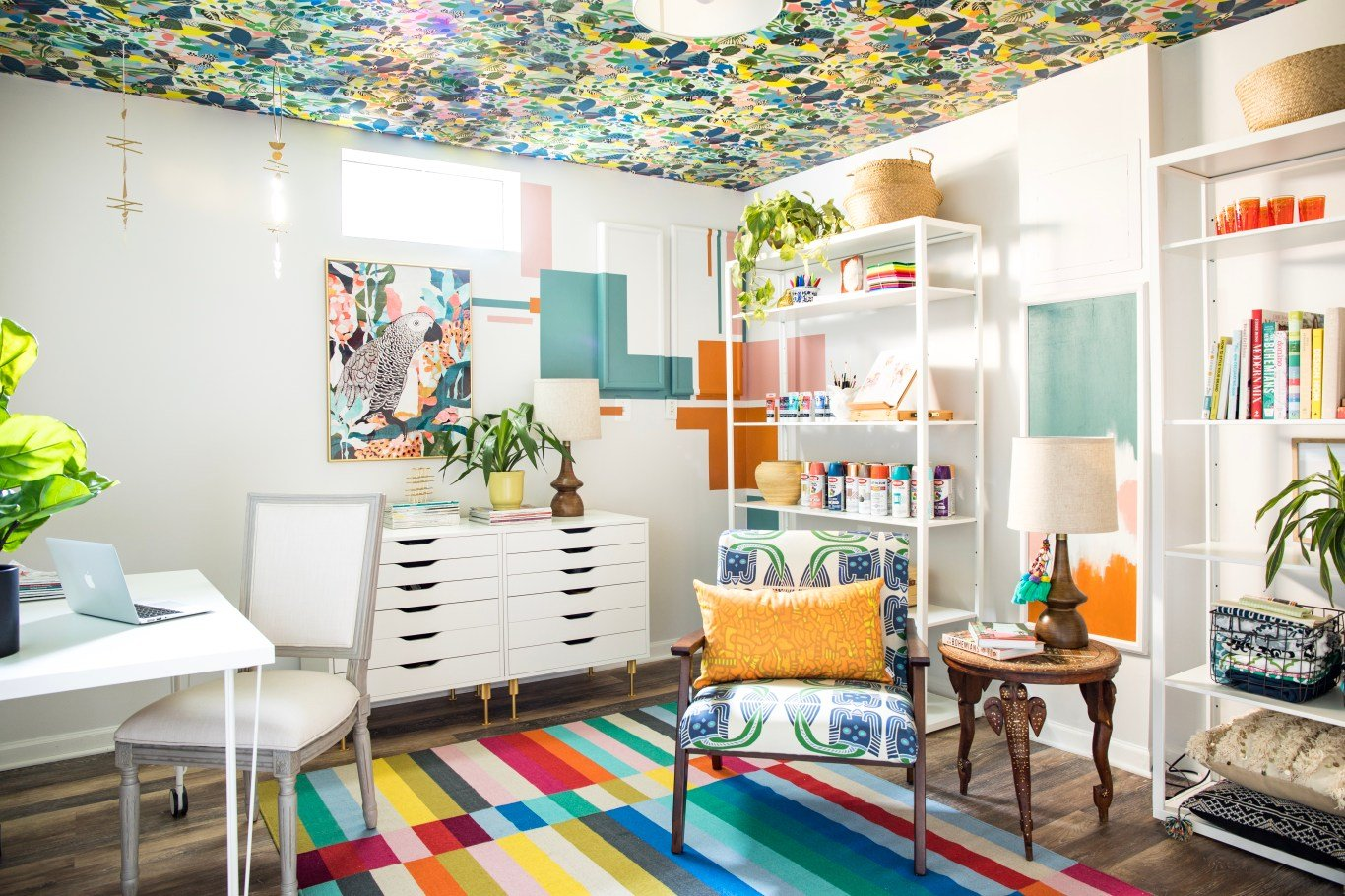 13+ Craft Room Makeover with Affordable Ikea Furniture