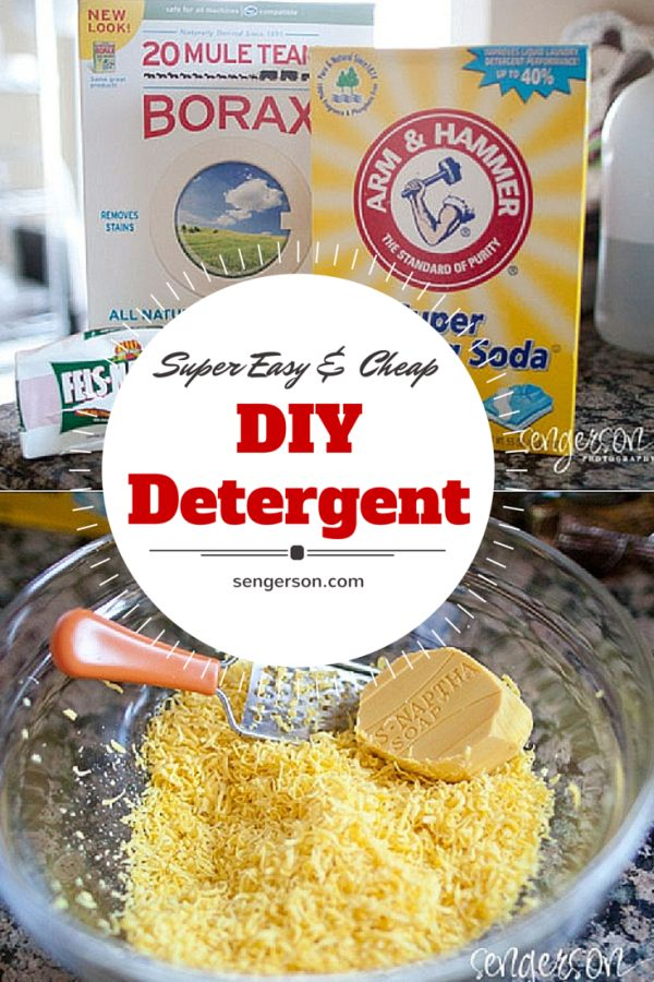 best homemade powder laundry detergent recipe