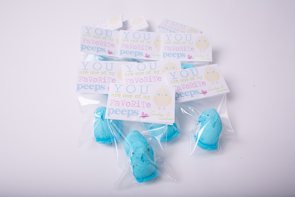 easter printable peeps chicks | sengerson.com
