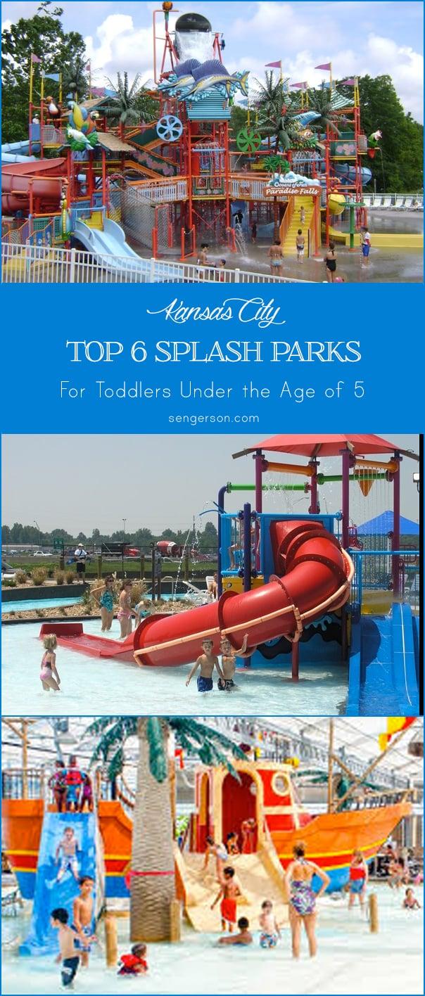 kansas city list of splash parks