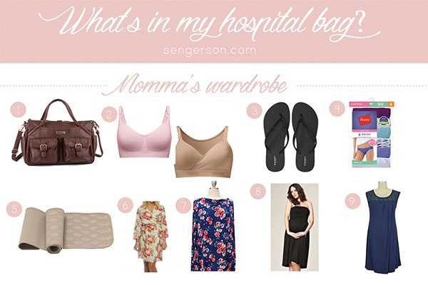 what to pack in your hospital bag for momma