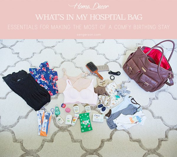 This is the ULTIMATE guide to the best hospital bag checklist. This includes a hospital bag checklist for baby and mom. It's a definitive guide to what to pack in hospital bag for birthing your child!