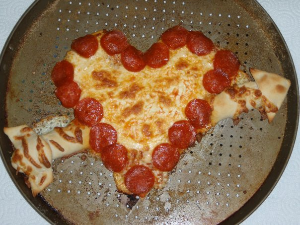 2009 valentines day meal