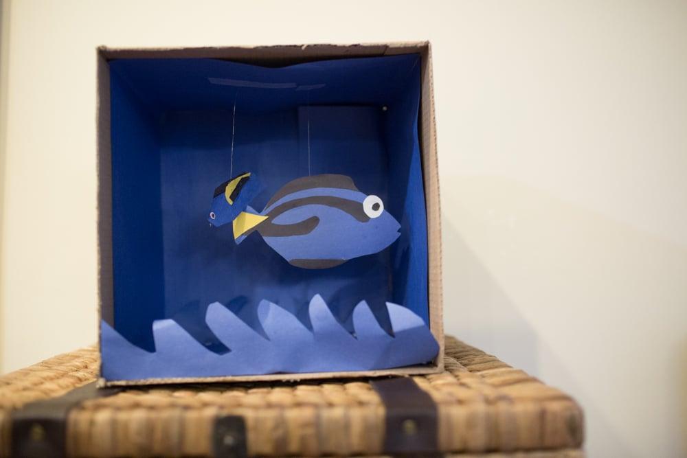 finding nemo aquarium craft 0004