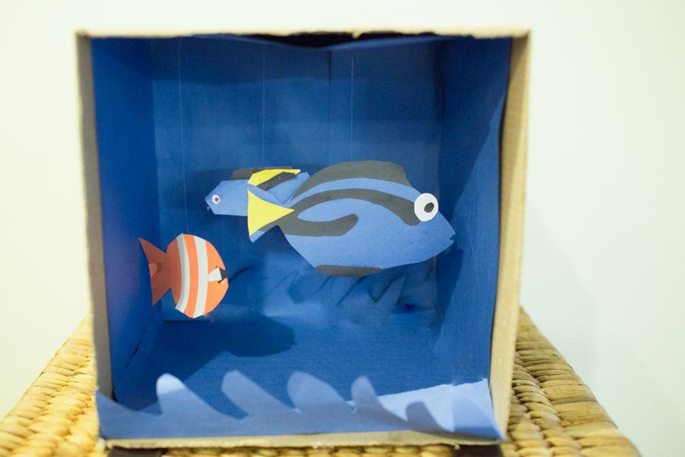 finding nemo aquarium craft 0005