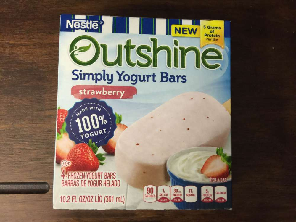 outshine yogurt strawberry