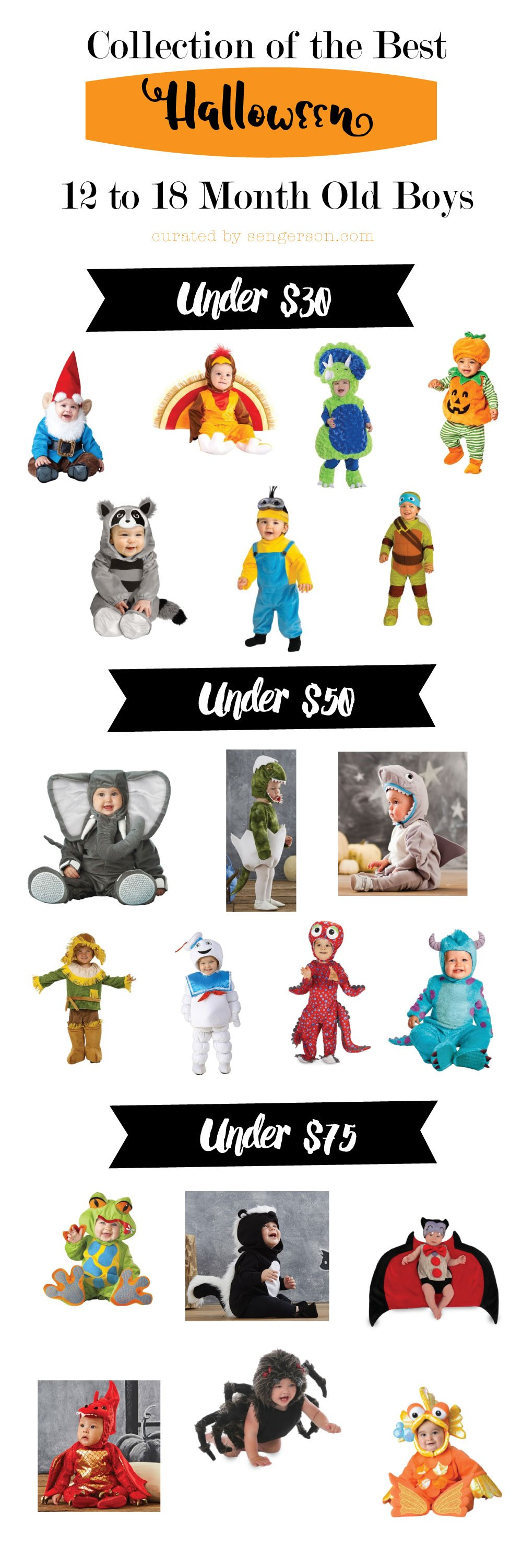 Toddler Boy Halloween Costumes