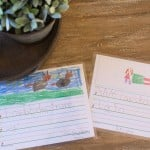 Personalized Placemats as Morning Conversation Starters