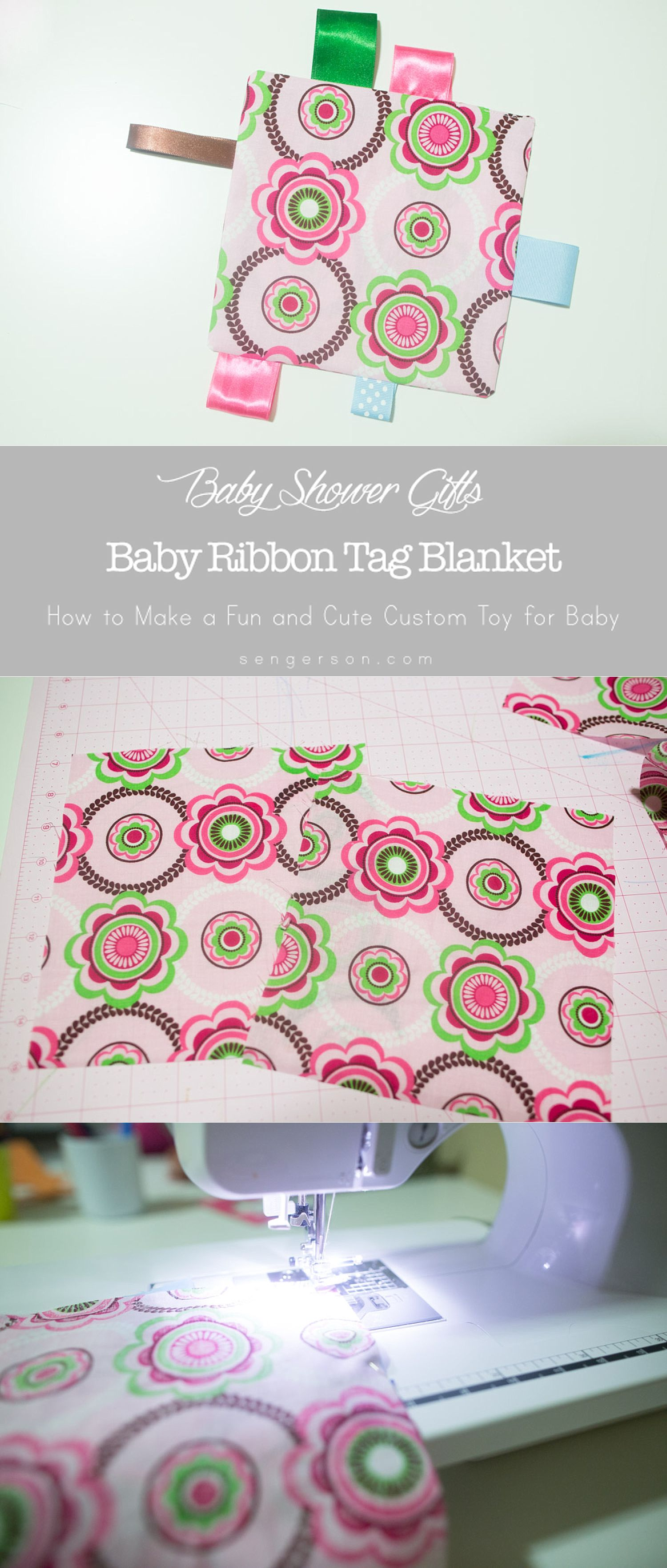Diy Baby Toy Sensory Tag Blanket For Babies