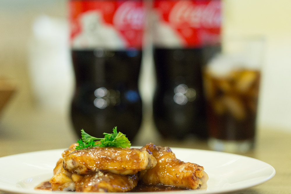 coke oven baked chicken wings