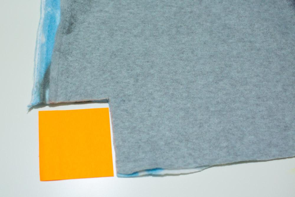 No Sew Fleece Baby Blanket how to cut