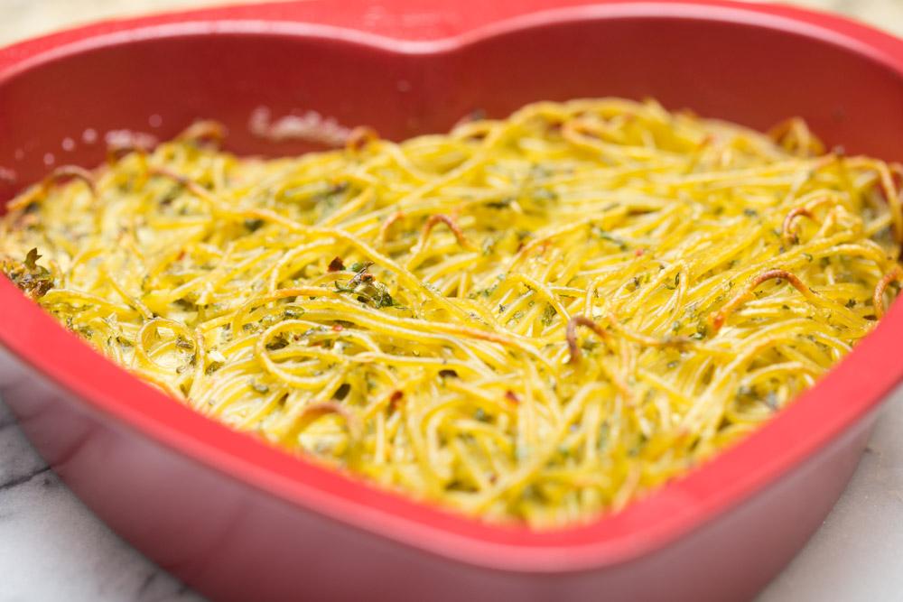 Leftover Spaghetti Recipe leftover pasta frittata