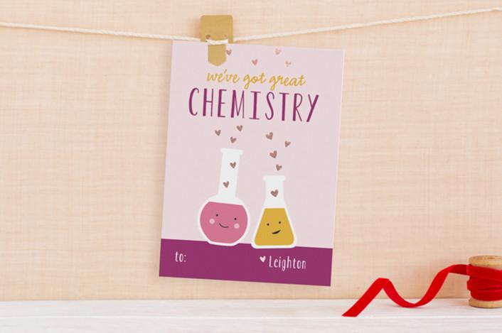 valentine card ideas chemistry