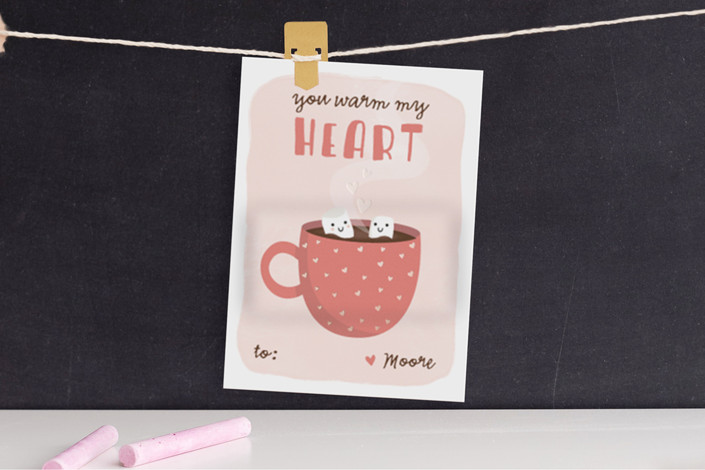 valentine card ideas warm heart