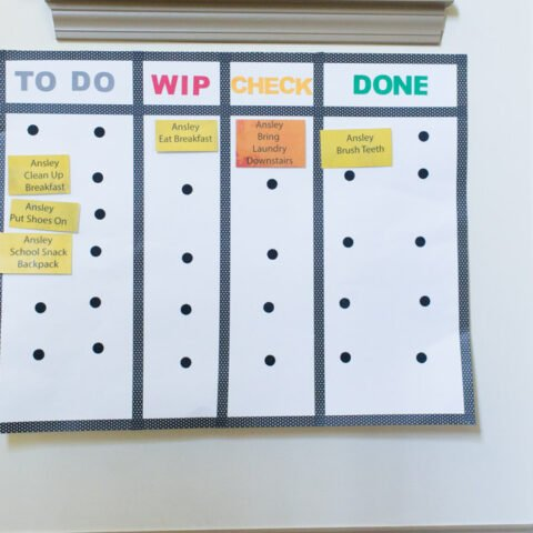 How to Create a Kanban Board for Kids