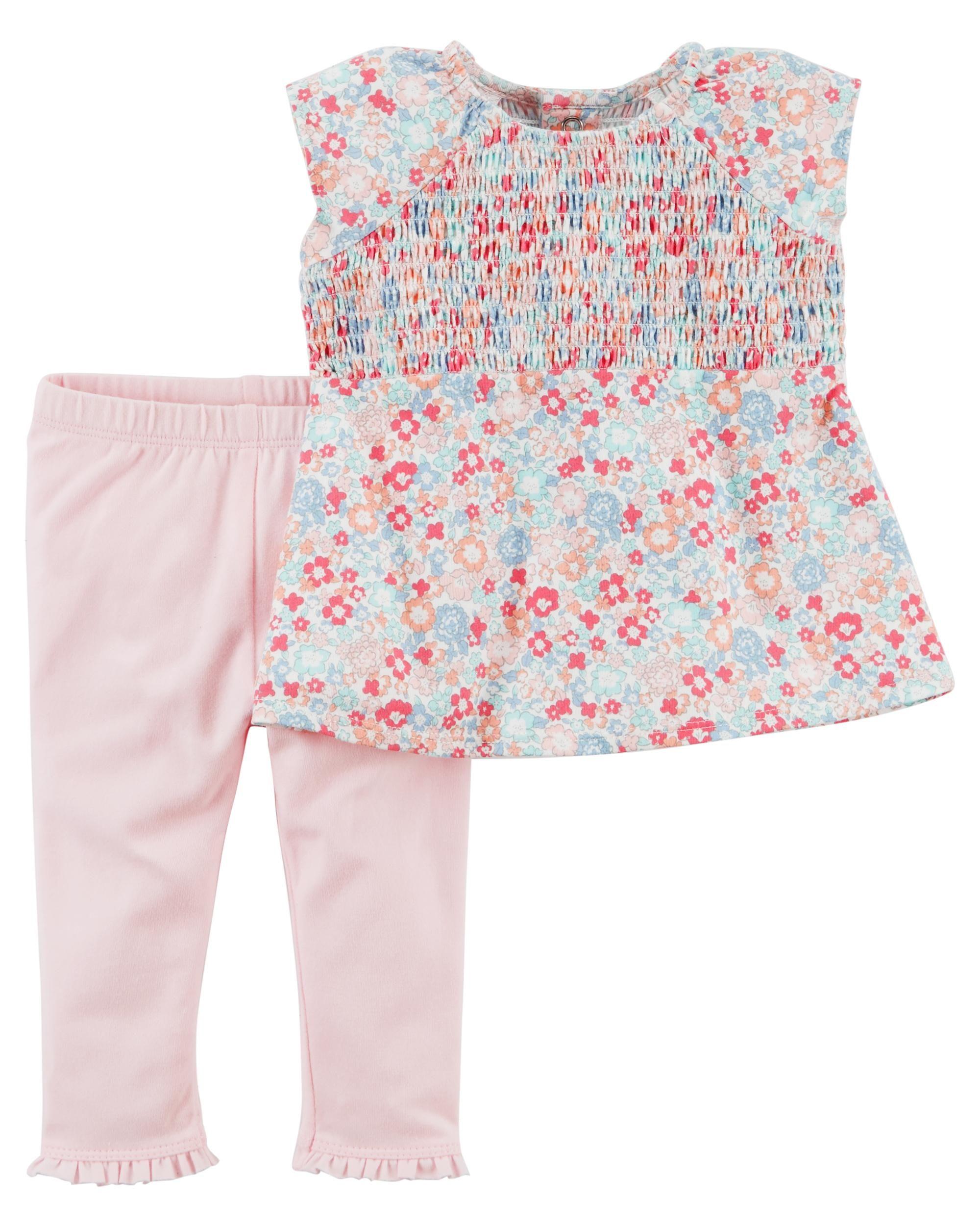 floral flutter sleeves for babies