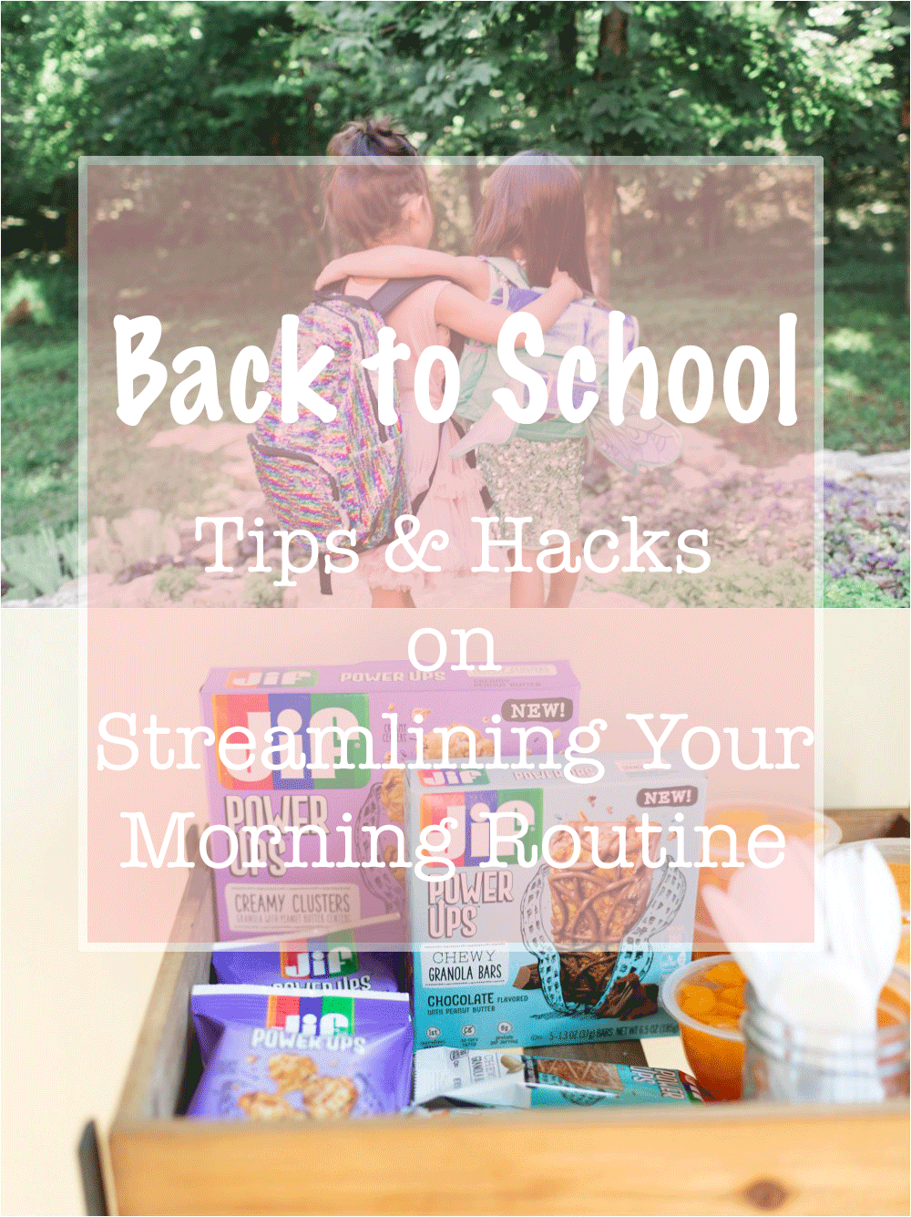 back to school morning routine