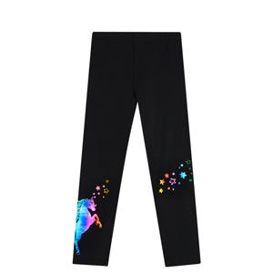 unicorn leggings with hologram for girls
