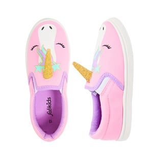 unicorn pink shoes with fur