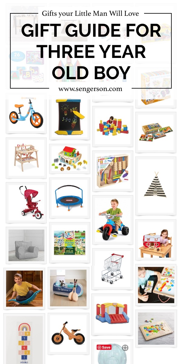 Gift Guide for Three Year Old Boy