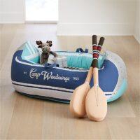 Camp Wandawega Plush Canoe + Reviews | Crate and Barrel