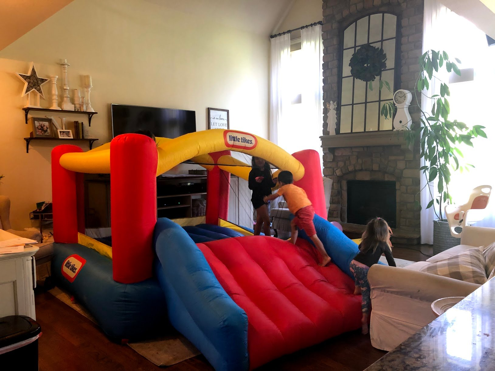 bounce house indoors