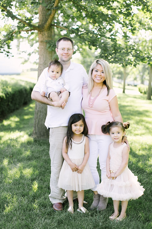 having 4 kids and 4 children