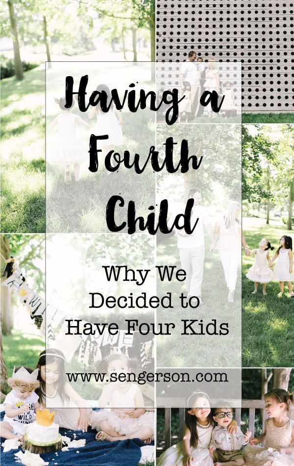Having 4 Kids pros and cons - why you should have 4 children and what's great about it.