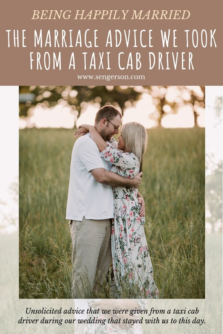 This wife shares a piece of incredible marriage advice that she learned from a taxi cab driver on her wedding day and how it makes sense now! She's a mom of four and explains truthfully how she got to ten years!