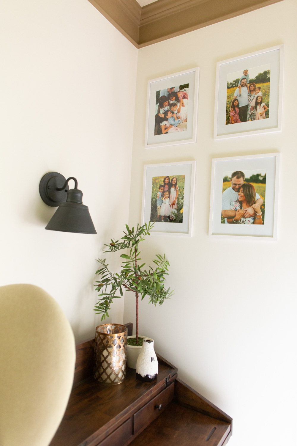 DIY Wall Sconce Lighting without Electricity or Power - Easy Hack