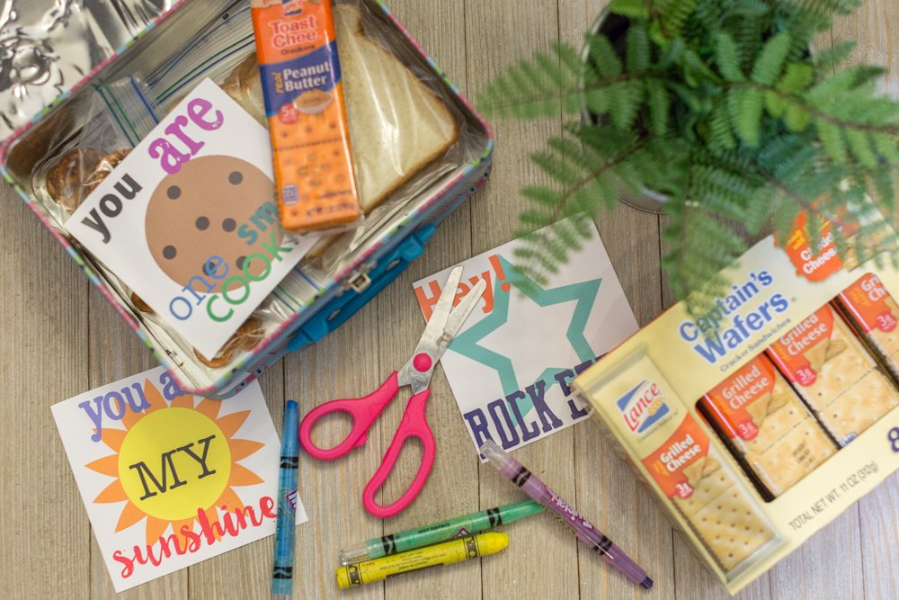 Lunch Box Notes for Kindergarten FREE Printable