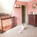 Glamorous Pink and Gold Nursery for Aubrey