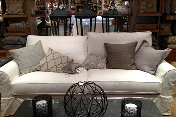Pottery Barn Couch Wish List
